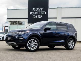 Used 2017 Land Rover Discovery Sport SPORT|HSE|NAV|PADDLE SHIFTERS|PANO SUNROOF|HEATED STEERING for sale in Kitchener, ON