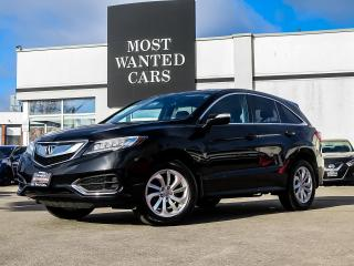 Used 2017 Acura RDX AWD|ACC|LKA|PADDLE SHIFTERS|LEATHER|POWER TAILGATE for sale in Kitchener, ON