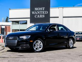 Used 2017 Audi A4 QUATTRO|PADDLE SHIFTERS|REAR SENSORS|HEATED STEERING WHEEL|SUNROOF for sale in Kitchener, ON