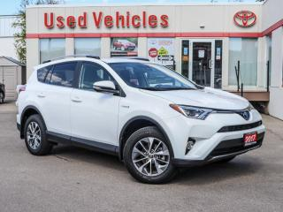 Used 2017 Toyota RAV4 Hybrid LE+ ALLOYS CAMERA KEYLESS START POWER/HEAT SEAT for sale in North York, ON