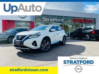 New 2020 Nissan Murano Platinum AWD for sale in Stratford, ON