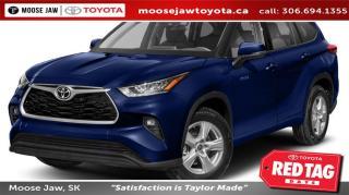 New 2020 Toyota Highlander HYBRID XLE for sale in Moose Jaw, SK