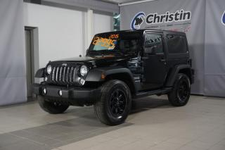 Used 2015 Jeep Wrangler TOIT RIGIDE AMOVIBLE 4X4 for sale in Montréal, QC