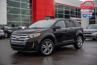 Used 2013 Ford Edge Limited/GARANTIE PROLONGEE DISPONIBLE* P5153A NOIR for sale in Terrebonne, QC