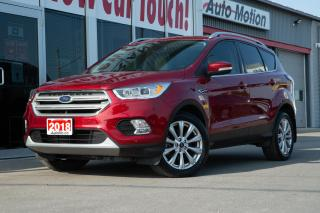 Used 2018 Ford Escape Titanium LOADED!! SELF PARK NAVI PANO ROOF ++ for sale in Chatham, ON