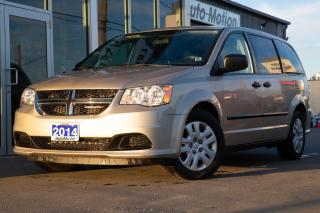 Used 2014 Dodge Grand Caravan SE/SXT GOOD CONDITION 3RD ROW SEATING for sale in Chatham, ON