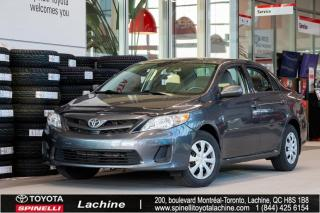 Used 2013 Toyota Corolla S BAS MILEAGE! for sale in Lachine, QC