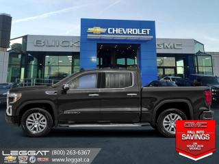 New 2020 GMC Sierra 1500 Denali - Navigation -  Leather Seats for sale in Burlington, ON
