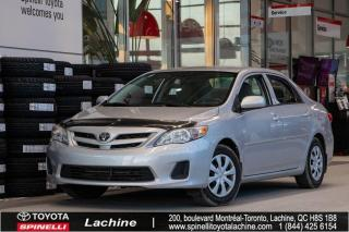 Used 2011 Toyota Corolla CE CRUISE! GROUPE ELECTRIQUE! for sale in Lachine, QC