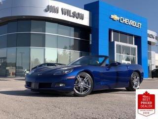 Used 2006 Chevrolet Corvette CONVERTIBLE 6.0L V8 AUTO NAV HEADS UP DISPLAY for sale in Orillia, ON
