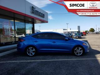 Used 2017 Hyundai Elantra SE  - Sunroof -  Touch Screen - $107 B/W for sale in Simcoe, ON