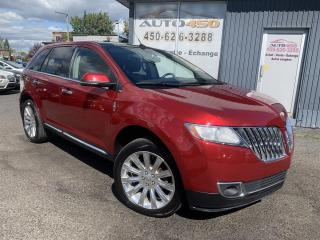 Used 2014 Lincoln MKX ***AWD,CUIR,TOIT PANO,NAV,MAGS*** for sale in Longueuil, QC