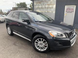 Used 2010 Volvo XC60 ***T6,AWD,CUIR,TOIT,MAGS,BAS KILO*** for sale in Longueuil, QC