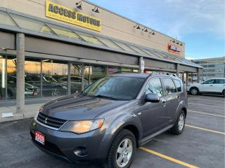 Used 2009 Mitsubishi Outlander 4WD 4dr ES for sale in North York, ON