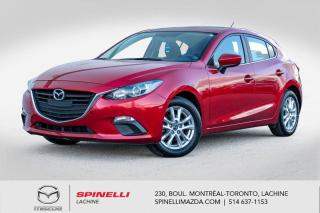 Used 2016 Mazda MAZDA3 GS Auto Toit Ouvrant Siesges Chauffants Bluetooth Mazda 3 GS Sport 2016 for sale in Lachine, QC