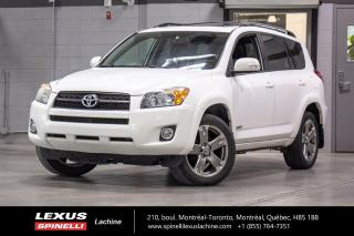 Used 2009 Toyota RAV4 SPORT AWD; CUIR TOIT SIEGES CHAUFFANT MAGS INTÉRIEUR CUIR - TOIT-OUVRANT - SIÈGES CHAUFFANT - MAGS 18'' for sale in Lachine, QC