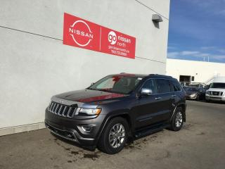 Used 2015 Jeep Grand Cherokee Overland 4dr 4WD Sport Utility for sale in Edmonton, AB