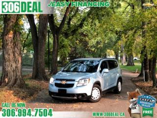 Used 2013 Chevrolet Orlando LT for sale in Saskatoon, SK