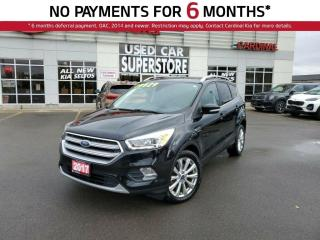Used 2017 Ford Escape Titanium, AWD, Leather, NAV, Sunroof. for sale in Niagara Falls, ON