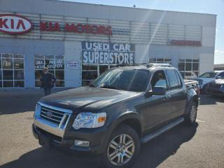 Used 2010 Ford Explorer Sport Trac Limited, 4X4, NAV, Leather, Sunroof. for sale in Niagara Falls, ON