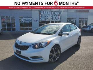 Used 2016 Kia Forte EX, Heated Seats, Bluetooth, Reverse Camera. for sale in Niagara Falls, ON