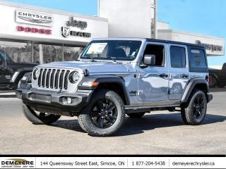 New 2021 Jeep Wrangler Unlimited SPORT ALTITUDE | * LEASE FOR $110 PER WEEK for sale in Simcoe, ON