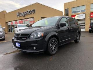 Used 2017 Dodge Grand Caravan SXT Plus - One Owner, DVD, Nav, Backup Cam! for sale in Kingston, ON