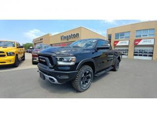 Used 2019 RAM 1500 Rebel 4X4 - One Owner, Heated Steering Wheel! for sale in Kingston, ON