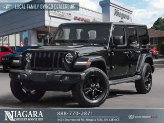 Used 2020 Jeep Wrangler ALTITUDE EDITION for sale in Niagara Falls, ON