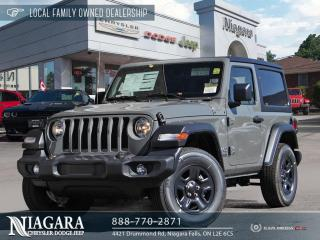 New 2021 Jeep Wrangler SPORT for sale in Niagara Falls, ON