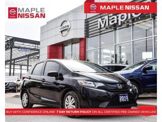 Used 2015 Honda Fit LX Bluetooth Heated Seats Backup Camera A/C for sale in Maple, ON
