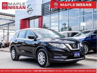 Used 2018 Nissan Rogue S Apple Carplay Backup Cam Blind Spot Heated Seats for sale in Maple, ON