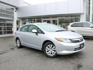 Used 2012 Honda Civic LX for sale in Surrey, BC