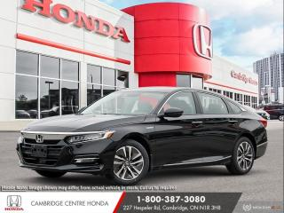 New 2020 Honda Accord Hybrid APPLE CARPLAY™ & ANDROID AUTO™ | PUSH BUTTON START | HONDA SENSING TECHNOLOGIES for sale in Cambridge, ON