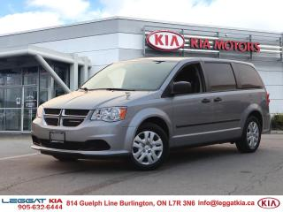 Used 2017 Dodge Grand Caravan CVP/SXT for sale in Burlington, ON