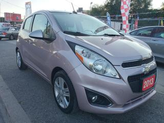 Used 2013 Chevrolet Spark LS-EXTRA CLEAN-ONLY 107K-5 SPEED-4CYL-AUX-ALLOYS for sale in Scarborough, ON
