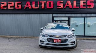 Used 2018 Chevrolet Cruze Premier|ACCIDENT FREE|LEATHER|BACKUP CAM for sale in Brampton, ON