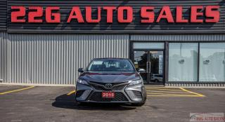 Used 2019 Toyota Camry SE|LEATHER|ACCIDENT FREE|BACKUP CAM|CAR PLAY for sale in Brampton, ON