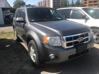Used 2010 Ford Escape XLT-V6 AS-IS for sale in Mississauga, ON