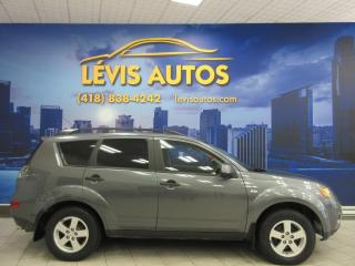 Used 2007 Mitsubishi Outlander LS AWD V-6 AIR CLIMATISE 188500 KM for sale in Lévis, QC