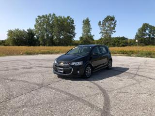Used 2017 Chevrolet Sonic LT for sale in Windsor, ON