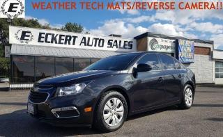 Used 2016 Chevrolet Cruze LT2/WEATHER TECH MATS/REVERSE CAMERA!! for sale in Barrie, ON