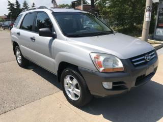 Used 2008 Kia Sportage NO ACCIDENT,SAFETY+3 YEARS WARRANTY INCLUDED for sale in Toronto, ON