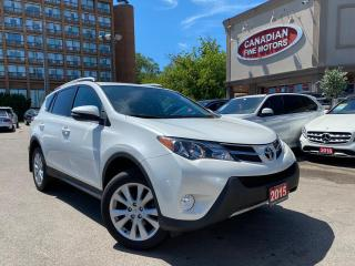 Used 2015 Toyota RAV4 LIMITED  for sale in Scarborough, ON