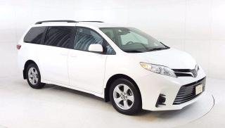 Used 2019 Toyota Sienna LE Van, V6 Quad Seating With 3rd Row Power Sliding for sale in Winnipeg, MB