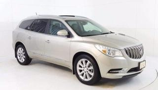 Used 2017 Buick Enclave Premium AWD, Power Moonroof, Navigation, Heated/Co for sale in Winnipeg, MB