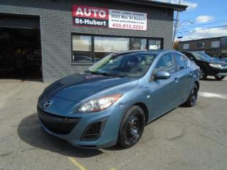 Used 2010 Mazda MAZDA3 GX for sale in St-Hubert, QC