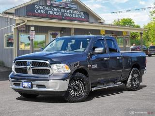 Used 2017 RAM 1500 SLT,4X4,QUADCAB,6 PASS,TOW PKG,B.TOOTH for sale in Orillia, ON