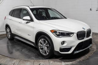Used 2016 BMW X1 XDRIVE CUIR TOIT PANO MAGS GROS ECRAN for sale in Île-Perrot, QC
