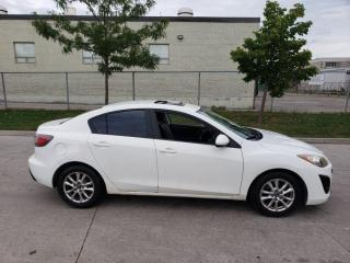 Used 2011 Mazda MAZDA3 Auto, Low km, Leather,Sunroof, 3/Y Warranty  avail for sale in Toronto, ON